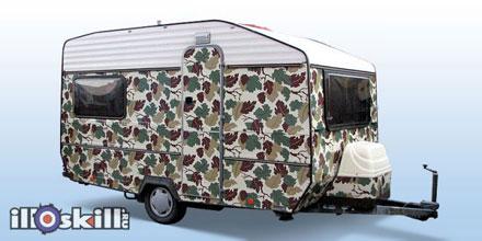 Камуфляж на авто - виниловая плёнка