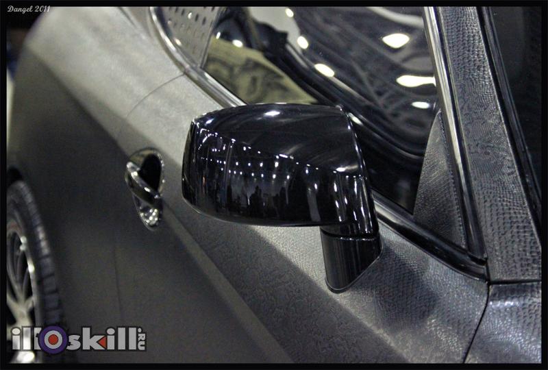 Автомобиль в коже питона - студия illskill