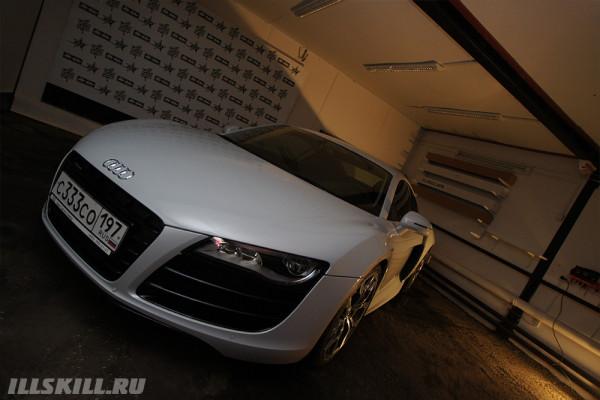 3m ventureshield  Audi R8 антигравийная плёнка