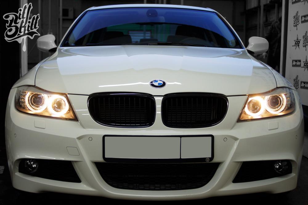 Бронировка кузова BMW антигравийной плёнкой 3М