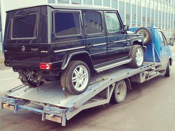 Перевозка автомобилей, услуга эвакуации авто. Москва