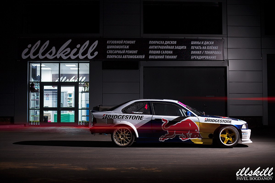BMW RedBull Bridgestone
