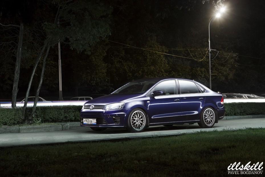 Покраска бампера Volkswagen Polo